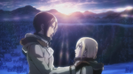 Ymir and Christa making their promise