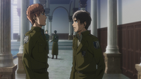 Eren confronts Floch