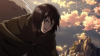 Mikasa ist bereit Ymir zu töten