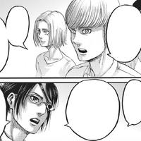 Hanji und Flocke debattieren über Erens Taten