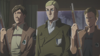 Erwin wird erhaftet