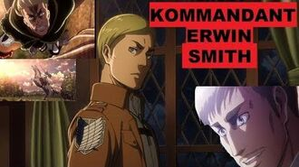 ERWIN SMITH ER opfert sein HERZ! AoT Charakter Analyse