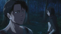 Levi and Mikasa learn of Kenny's last name