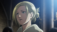 Annie asks Conny and Armin if they would be willing to die