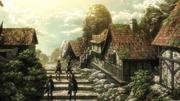 Mikasa et Eren de retour à leur maison