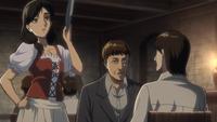 Carla unterbricht Keith und Grisha