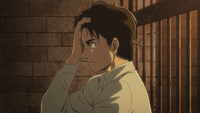 Eren realizes he was not dreaming