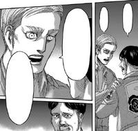 Erwin rozmawia z dowódcą Garnizonu