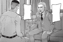 Willy tells Magath that most deaths will be Eldian
