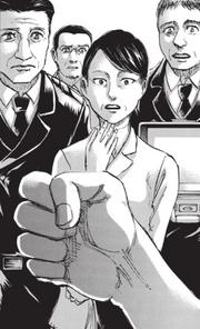 Découverte du sceau de Mikasa