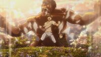Eren unleashes the Coordinate