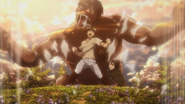 File:Eren unleashes the Coordinate.jpg
