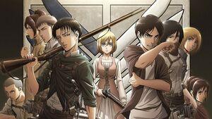 Attack on Titan Staffel 3 Charaktere
