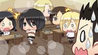 Eren accidentally walks in on the girls