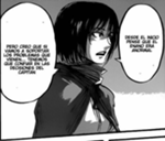 Mikasa et son opinion sur la situation
