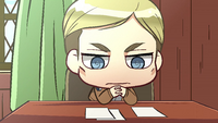 Erwin ponders over connecting with young soldiers