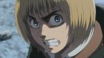 Armin prepares to dodge