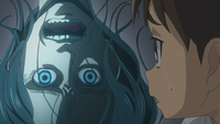 Eren sees a ghost