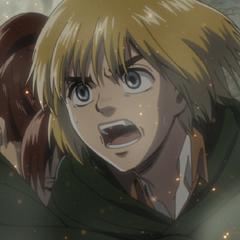 Armin ve cómo se llevan a Eren.