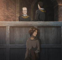 Ymir overhear Christa's case