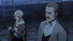 Annie und Elliot nach dem Entsorgen von Kempers Leiche