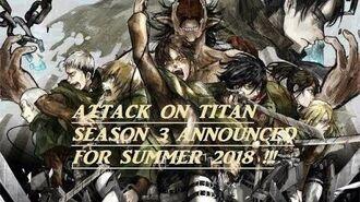 "Attack On Titan Season 2 ""Kakusei no Hōkō"" (The Roar of Awakening) TRAILER!!"