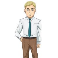 Erwin Smith (Junior High Anime) character image