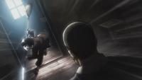 Eren charges a bandit