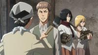 Eren und Jean streiten sich wie in alten Zeiten