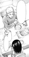 Mr. Ackerman notices Mikasa's sadness