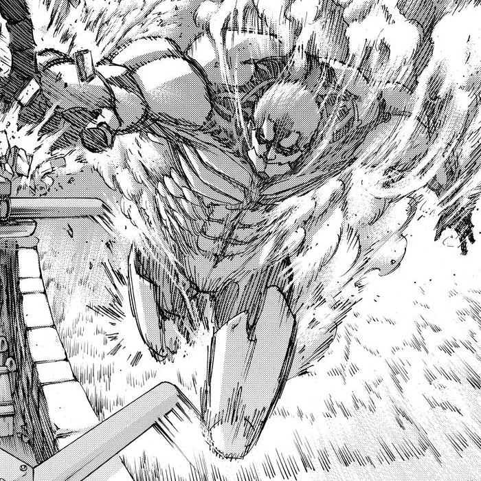 Attack On Titan Official Art Sketch Armored Titan