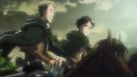 Oluo and Eren discuss the new recruits