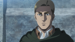 Erwin discusses the situation with Levi