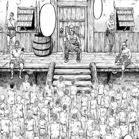 Fritz gathers the slaves