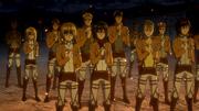 Nouveaux membres du Bataillon d'Exploration