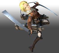 Attack-on-Titan-2 Annie Render