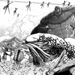 Проигрыш Райнера Звероподобному титану