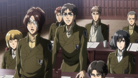 Eren realizes how he was able to command the Titans