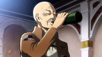 Pyxis with Wald's bottle of booze