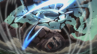 Levi slices up the Beast Titan