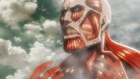 The Colossal Titan at Wall Rose