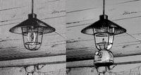 Lampa i żarówka