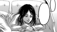 Pieck discusses the Founding Titan