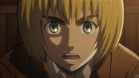 Armin explains his plan