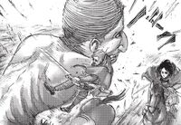 Erwin loses his arm