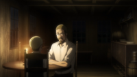 Mr. Smith shares his theories with Erwin