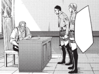 Erwin's plan is refused