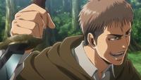 Jean schwingt ein Messer