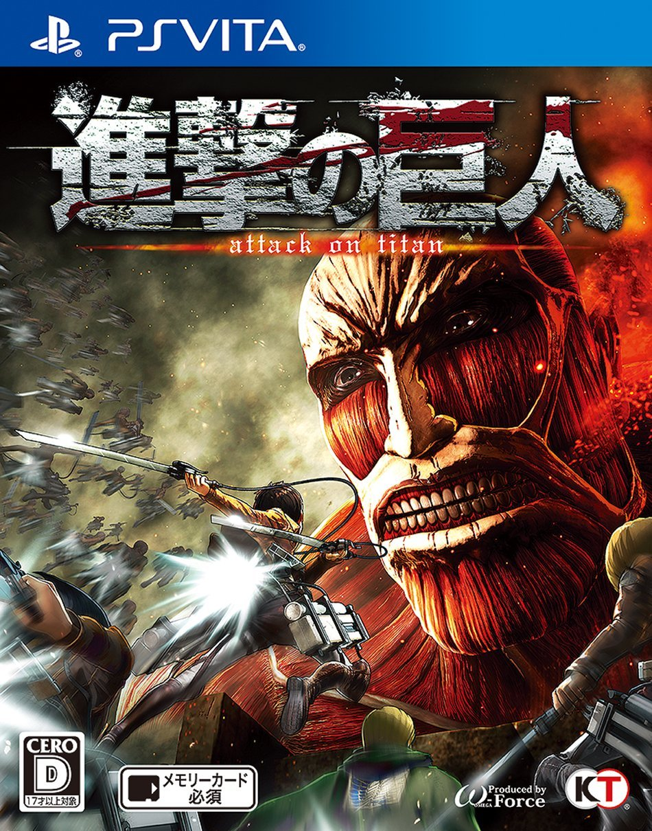 Kết quả hình ảnh cho Attack on Titan Wings of Freedom cover ps4