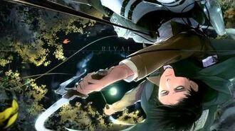 Shingeki no Kyojin 進撃の巨人 Levi VS Female Titan Theme
